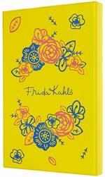 Taccuino Moleskine Studio Frida Kahlo Limited Edition Large A pagine bianche Edizione con cofanetto - Blu
