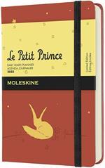 Agenda giornaliera Moleskine Il Piccolo Principe 2022, 12 mesi, Pocket - Volpe