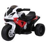 Moto Elettrica Per Bambini Bmw S1000Rr Ufficiale, 3 Ruote Con Luci E Suoni Realistici, Rosso