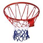 HomCom Rete Cerchio da Basket cerchio in metallo rete in nylon Φ46cm
