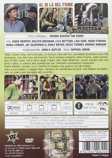 Al di là del fiume (DVD) di George Ovashvili - DVD - 2