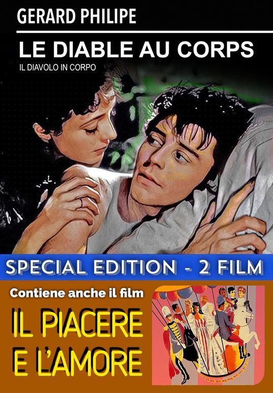 Le diable au corps - Il piacere e l'amore (DVD) di Claude Autant-Lara,Max Ophüls - DVD
