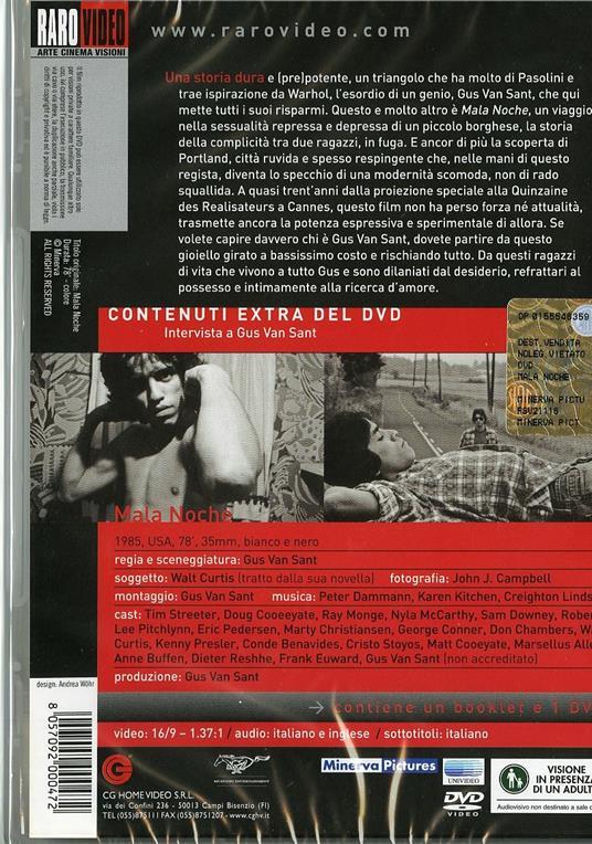 Mala noche di Gus Van Sant - DVD - 2