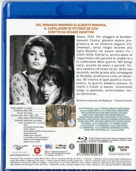 La ciociara di Vittorio De Sica - Blu-ray - 2