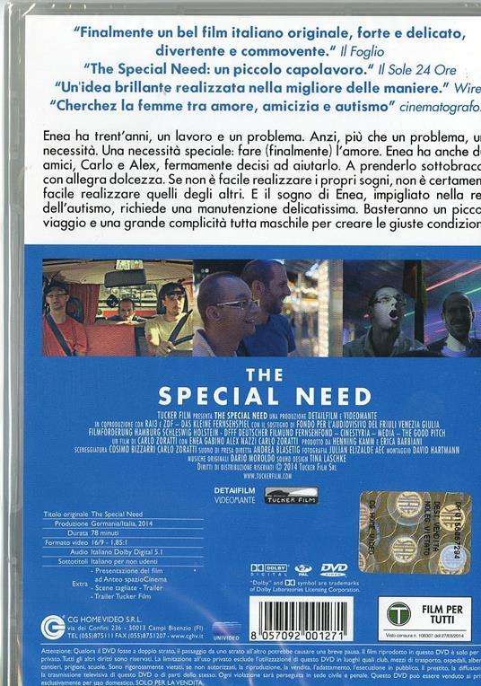 The Special Need di Carlo Zoratti - DVD - 3