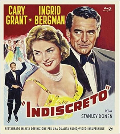 Indiscreto di Stanley Donen - Blu-ray
