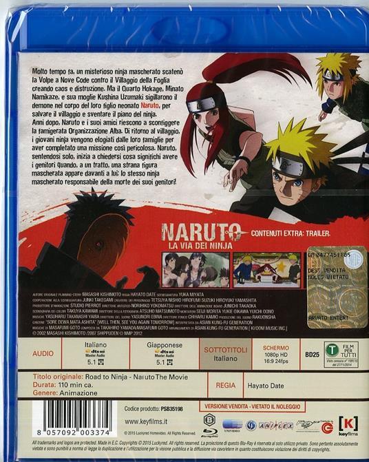 Naruto. La via dei ninja di Hayato Date - Blu-ray - 2