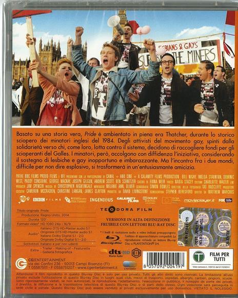 Pride di Matthew Warchus - Blu-ray - 2
