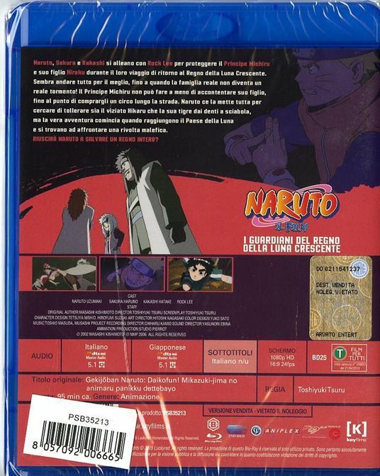 Naruto. Il film. I guardiani del regno della luna crescente di Toshiyuki Tsuru - Blu-ray - 2