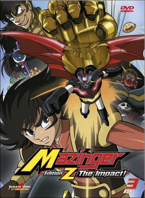 Mazinger. Edition Z. The Impact. Box 3 (2 DVD) di Yasuhiro Imagawa - DVD