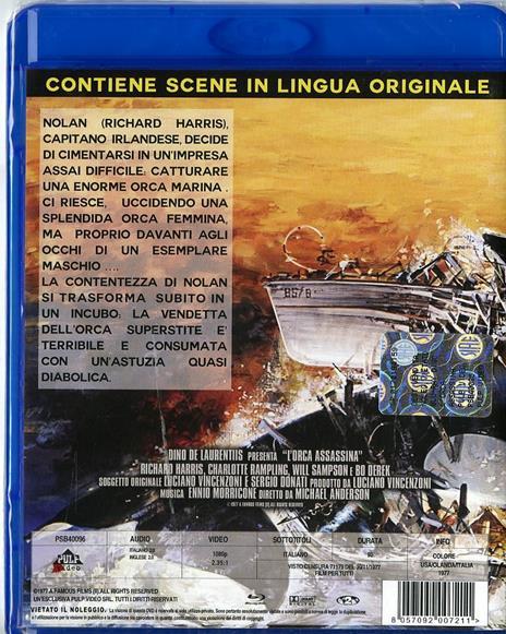 L' orca assassina di Michael Anderson - Blu-ray - 2