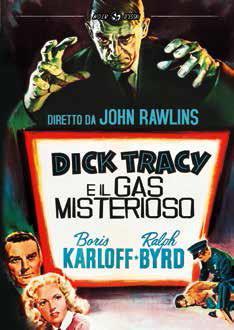 Dick Tracy e il gas misterioso di John Rawlins - DVD