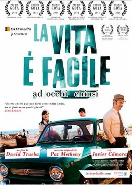 La vita è facile ad occhi chiusi di David Trueba - DVD