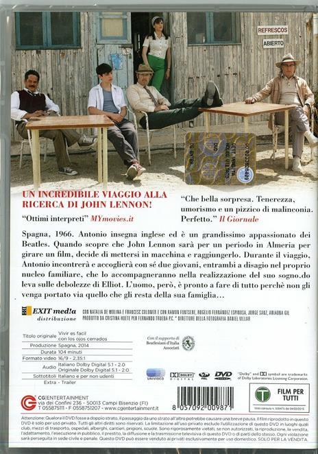 La vita è facile ad occhi chiusi di David Trueba - DVD - 2