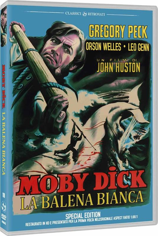 Moby Dick la balena bianca di John Huston - DVD