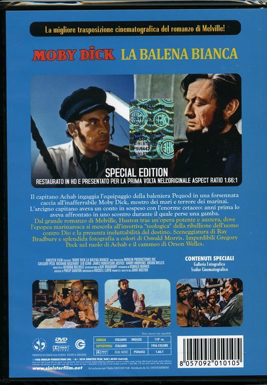 Moby Dick la balena bianca di John Huston - DVD - 2