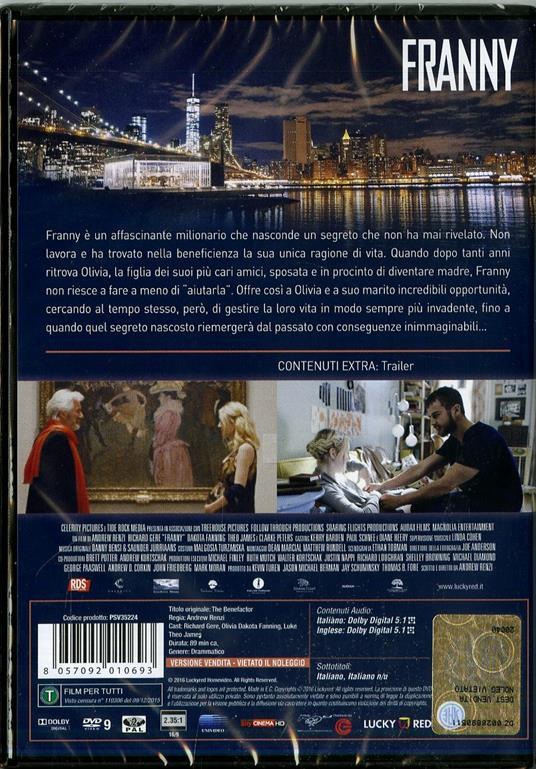 Franny di Andrew Renzi - DVD - 2