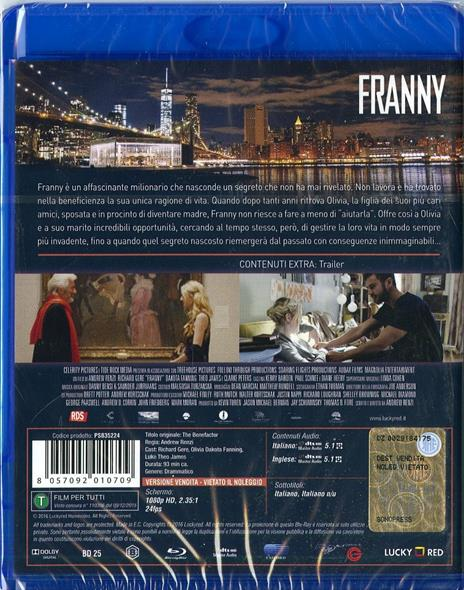 Franny di Andrew Renzi - Blu-ray - 2