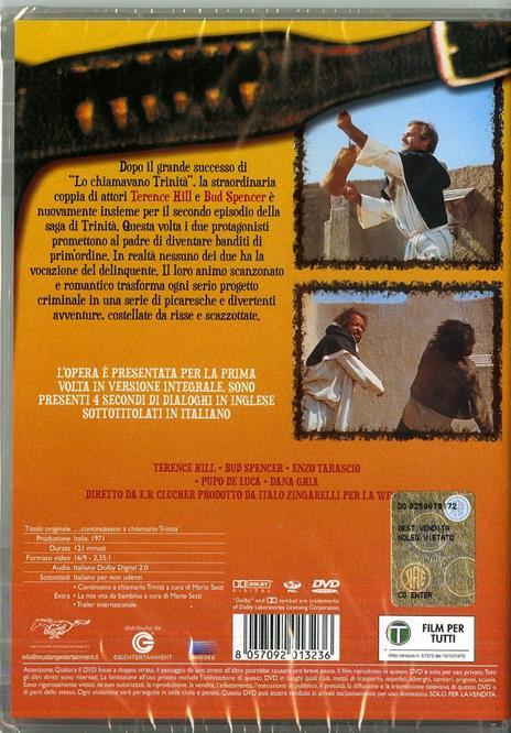 Continuavano a chiamarlo Trinità di Enzo Barboni - DVD - 3