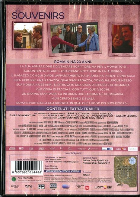 Les souvenirs di Jean-Paul Rouve - DVD - 2