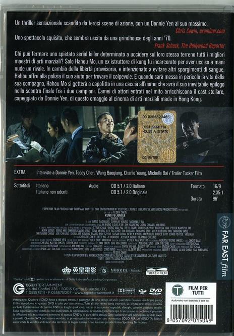 Kung Fu Jungle (DVD) di Teddy Chan - DVD - 2
