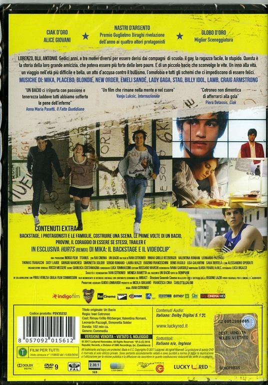 Un bacio (DVD) di Ivan Cotroneo - DVD - 7
