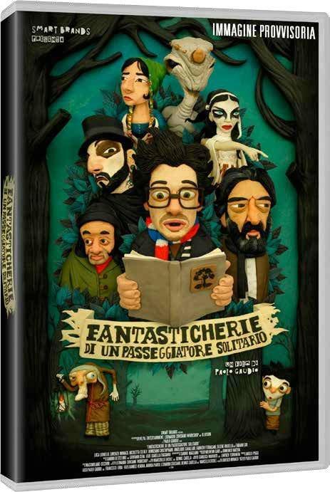 Fantasticherie di un passeggiatore solitario (DVD) di Paolo Gaudio - DVD