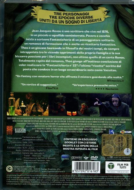 Fantasticherie di un passeggiatore solitario (DVD) di Paolo Gaudio - DVD - 2