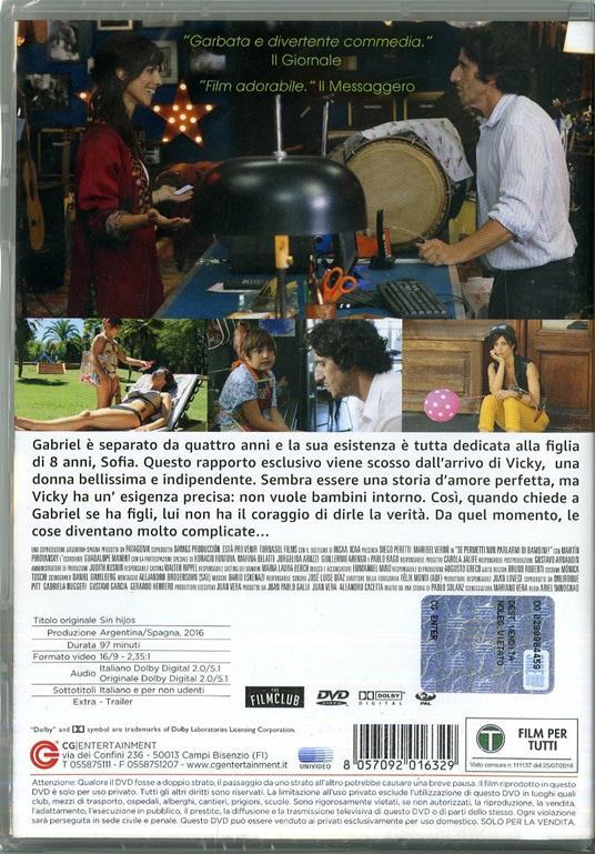 Se permetti non parlarmi di bambini! (DVD) di Ariel Winograd - DVD - 2