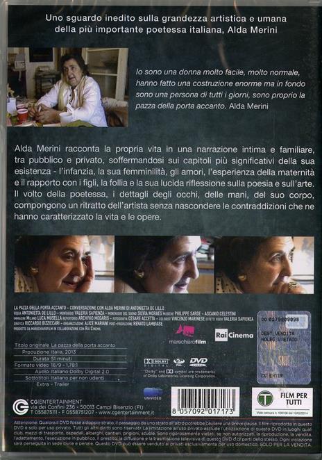 La pazza della porta accanto (DVD) di Antonietta De Lillo - DVD - 2