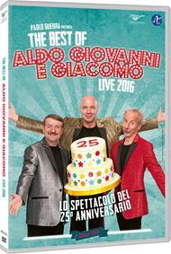 The Best of Aldo, Giovanni e Giacomo. Live 2016 (DVD)