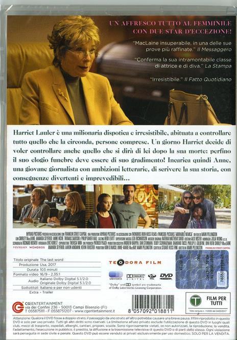 Adorabile nemica (DVD) di Mark Pellington - DVD - 7