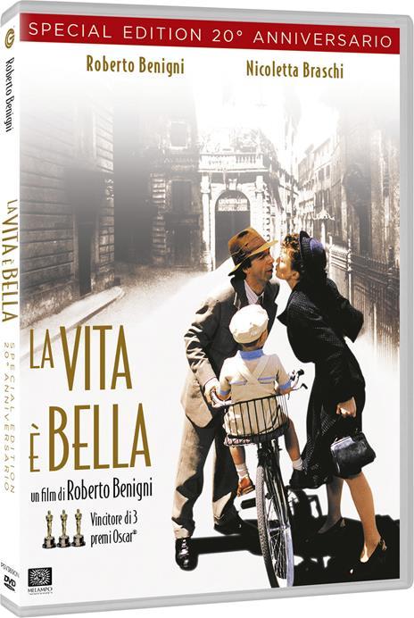 La vita è bella (DVD) di Roberto Benigni - DVD