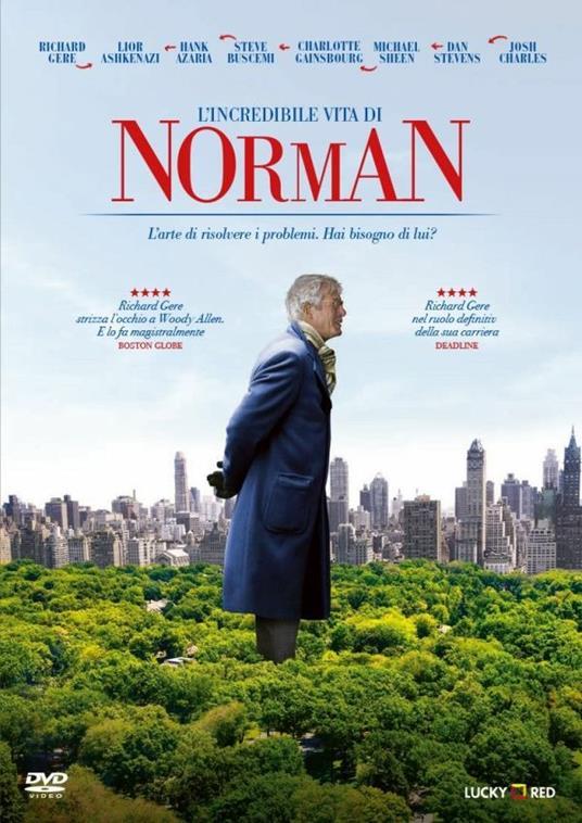 L' incredibile vita di Norman (DVD) di Joseph Cedar - DVD