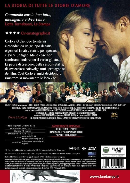L' ultimo bacio (DVD) di Gabriele Muccino - DVD - 2