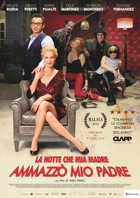 La notte che mia madre ammazzò mio padre (DVD) di Inés París - DVD