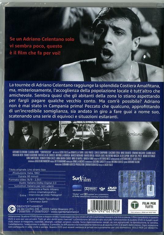 Uno strano tipo (DVD) di Lucio Fulci - DVD - 2