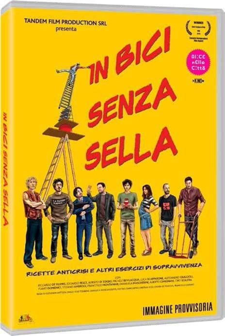 In bici senza sella (DVD) di Origo,Tonnini,Mangiasciutti,Giancaspro,Iezzi,De Marchis,Dafano - DVD