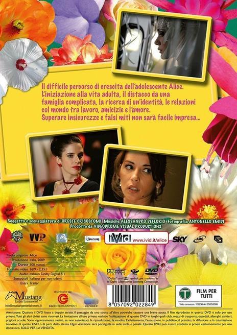 Alice (DVD) di Oreste Crisostomi - DVD - 2