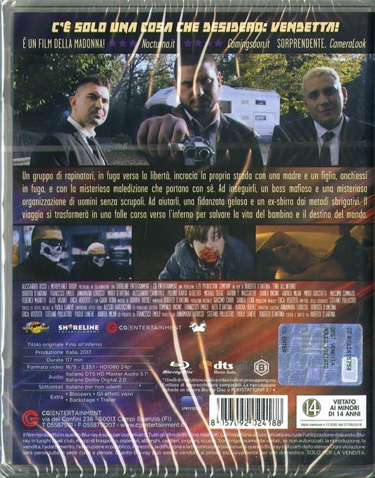 Fino all'inferno (Blu-ray) di Roberto D'Antona - Blu-ray - 2