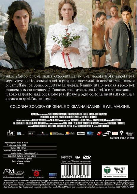 Viola di mare (DVD) di Donatella Maiorca - DVD - 2