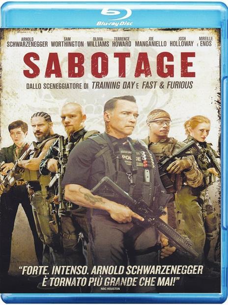 Sabotage (Blu-ray) di David Ayer - Blu-ray