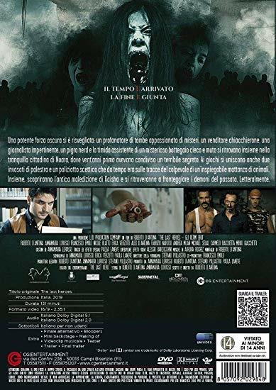 The Last Heroes. Gli ultimi eroi (DVD) di Roberto D'Antona - DVD - 2