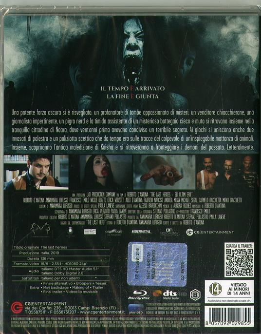 The Last Heroes. Gli ultimi eroi (Blu-ray) di Roberto D'Antona - Blu-ray - 2