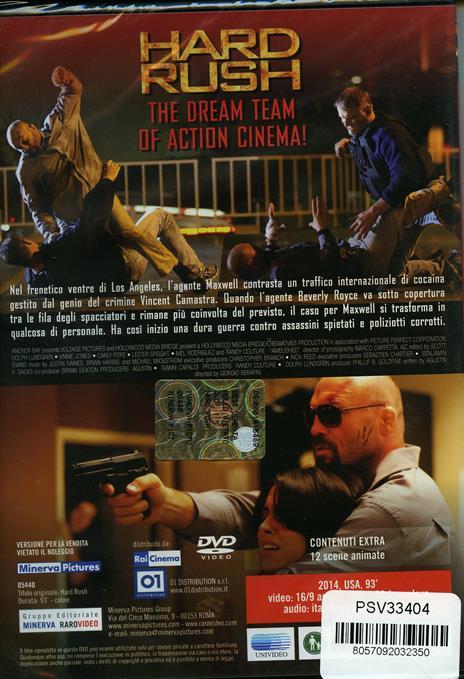 Hard Rush (DVD) di Giorgio Serafini - DVD - 2