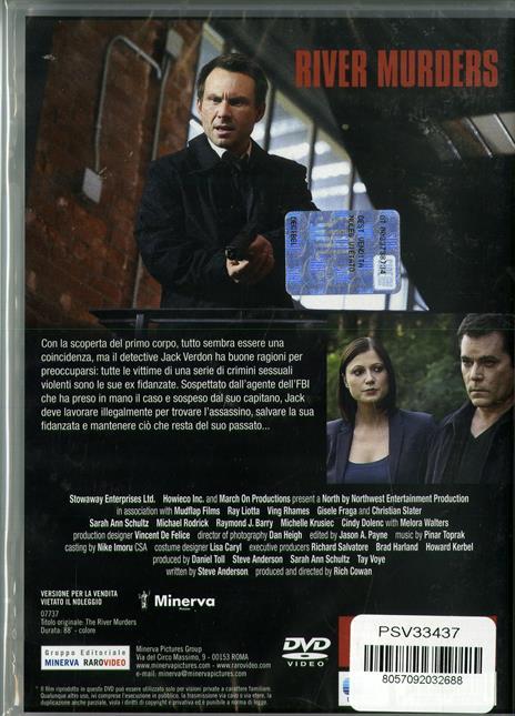 The River Murders. Vendetta di sangue (DVD) di Rich Cowan - DVD - 2