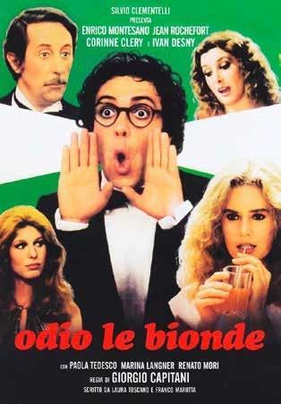 Odio le bionde (DVD) di Giorgio Capitani - DVD
