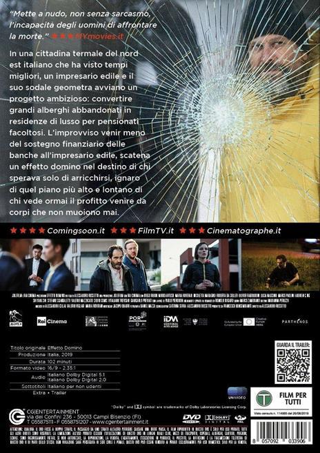 Effetto domino (DVD) di Alessandro Rossetto - DVD - 2