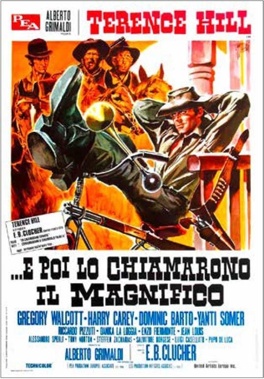 E poi lo chiamarono Il Magnifico (DVD) di E. B. Clucher - DVD