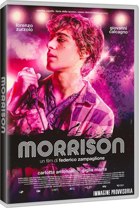 Morrison (DVD) di Federico Zampaglione - DVD - 2